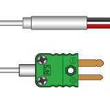 iniature Type R Thermocouples