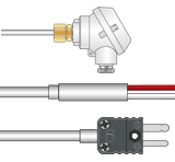 Type J temperature probe