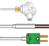 Type S Thermocouples with Mineral Insulation